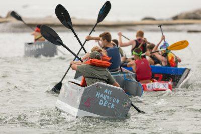 Cardboard Boat Race 2017