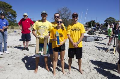 Cardboard Boat Race Group