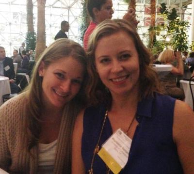Jess and Magda at NACEP