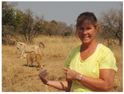 Karen Cordero in South Africa